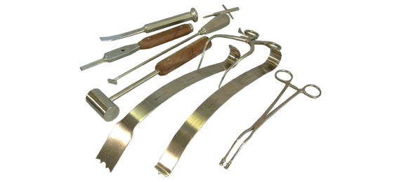 buxton surgical instrument sets for shoulder surgery including laterjet procedure