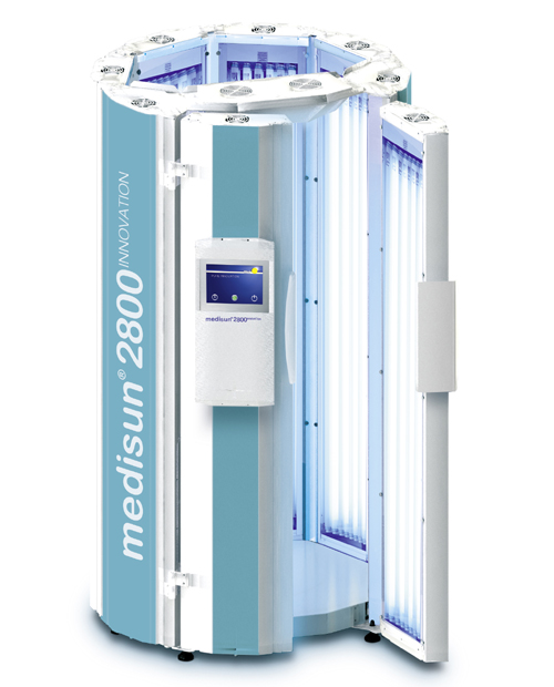 whole body UV phototherapy cabin
